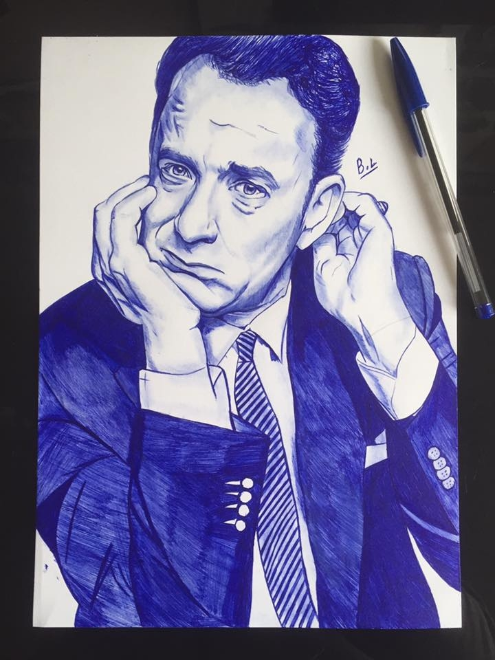 Tom Hanks by bastienlalou